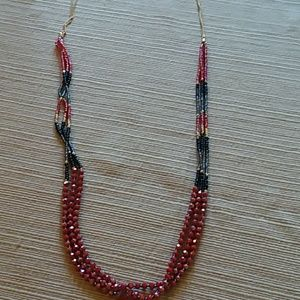 CUTE LONG&MULTI COLOR SMALL BEADS NECKLACE🌷